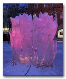 Ice sculpture from Østersund