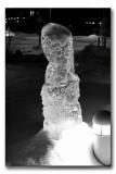 Ice sculptures in Kalix