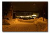 Vadsø by night