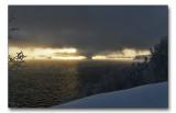 Sunrise in minus 20 degrees!