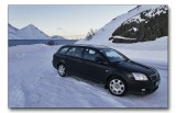 Toyota Avensis - perfect on winter roads