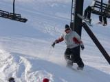 Skating and skiing