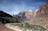 A Mount Caramel Highway Scene
