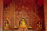 Golden Buddha images