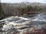 Falls below bridge on Highway 573
