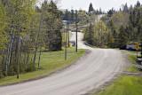 Highway 573 through Charlton, Ontario