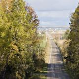 Driving towards Earlton