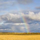 Faint rainbow near Earlton