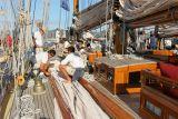 Voiles de Saint-Tropez 2006 - A bord de Mariette - 07/10/06 - A day aboard Mariette