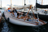 Marilee aux Voiles de Saint-Tropez 2006, sloop aurique de 1936, plan Nathanaël Herreschoff