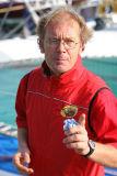 Franck-Yves Eszcoffier  skipper du trimaran de 50 pieds Crêpes Whaou !