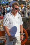 Charlie Wroe, capitaine de Mariette - 07/10/06 - A day aboard Mariette