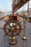 A bord de Lulworth côtre aurique de 46,3 m de long et 6,6 m de large