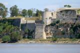 A bord du bac qui traverse la Gironde entre le port d'Issan et la ville de Blaye