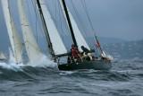 Pen Duick III aux Voiles de Saint-Tropez 2006 le 03/10/06