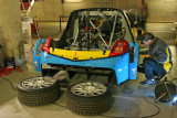 The Race of Champions 2006 - The cars in the paddocks
