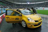 La Renault Clio Cup dernière génération préparée par le team Renault Sport