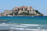 Corse - La ville de Calvi et sa citadelle