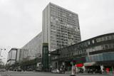 Visite du quartier de Montparnasse - Vue latérale de la gare