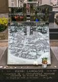 Dans le cimetière de Montparnasse - Tombe de Henri Langlois
