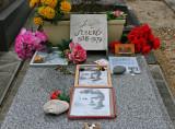 Dans le cimetière de Montparnasse - Tombe de Jean Seberg