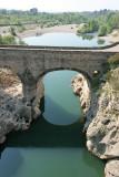 Le pont du Diable, classé dans la liste du patrimoine mondial de l'UNESCO