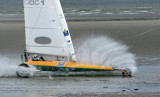 Louis Blériot Cup 2007 - International land yachting races in Le Touquet
