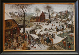 Musée des beaux arts de la ville de Lille - Le paiement de la dîme de Pieter Bruegel