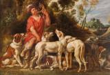 Visite du musée des beaux arts de la ville de Lille - Le piqueur et ses chiens