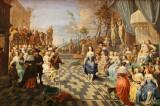 Visite du musée des beaux arts de la ville de Lille - Bal sur la terrasse d'un palais