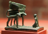 Visite du musée des beaux arts de la ville de Lille - statuette Egyptiènne