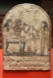 Visite du musée des beaux arts de la ville de Lille - stèle au nom du soldat Téti et de sa mère