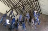 Visite de la mine de charbon Delloye à Lewarde - La salle des pendus