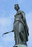 Visite de la ville de Lille - Statue de la Grand'Place