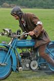 Moto Blériot 500 STD de 1920, à moteur bicylindre 4 temps