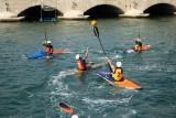 Compétition en canoé à Syracuse