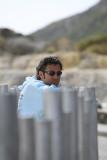 Sources d'eaux chaudes souffrées sur l'île de Volcano