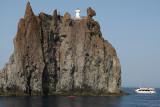 En bateau vers l'île de Stromboli