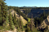The road to Crater Lake