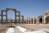 New mosque building at Masjid-ye Hazrat abul Fazl