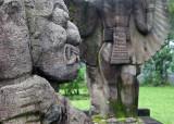 Sculptures, Candi Sukuh