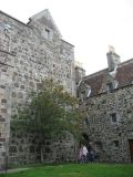 Courtyard in Duart Castle