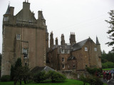 Side view of Cassillis House