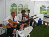 Entertainers at the Burns lunch