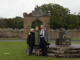 Me with my aunt and uncle at Culzean Castle