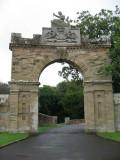 Entrance gate at Culzean Castle