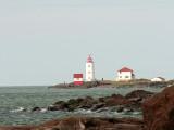 Phare de l'Ile Verte le plus vieux sur le St-Laurent