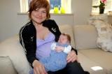 # 15 - Jette plus baby. April 2007