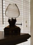 Backlit Oil Lamp