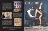 CoCo Pari 2 Page spread in NJ Monthly Magazine